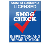 State of California Licensed Smog Check